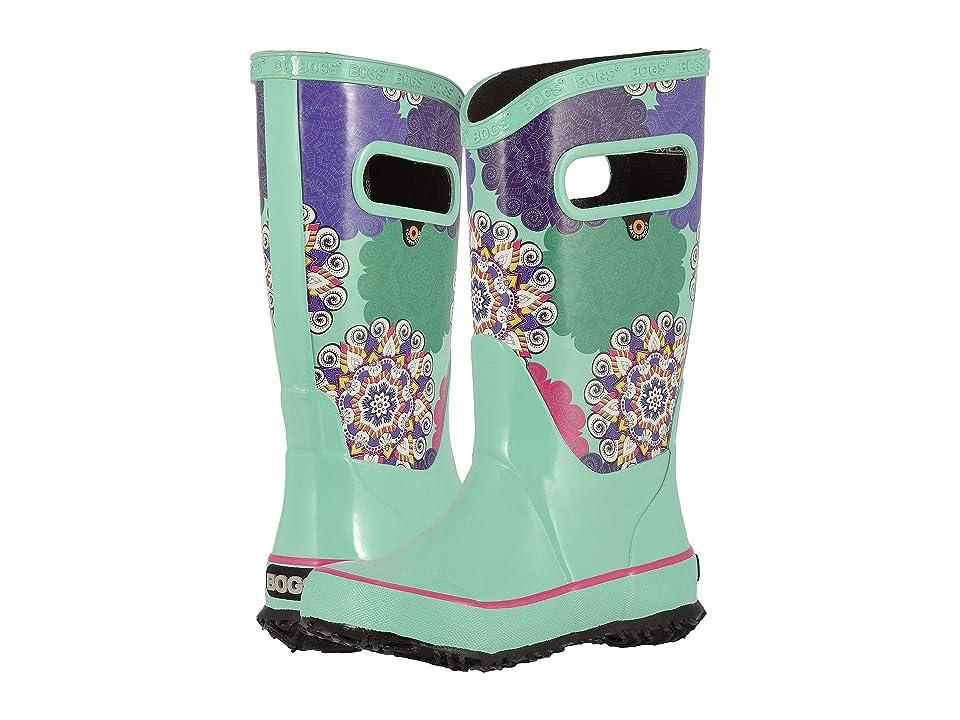 Bogs Kids Rain Boot Mandalla (Toddler/Little Kid/Big Kid) (Turquoise Multi) Girls Shoes