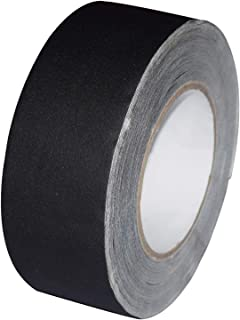Gaffer Tape 2 Inch x 90 feet Matte Black Duct Tape,Heavy Duty Non-Reflective Waterproof Black Gaffers Tape, Multipurpose (...