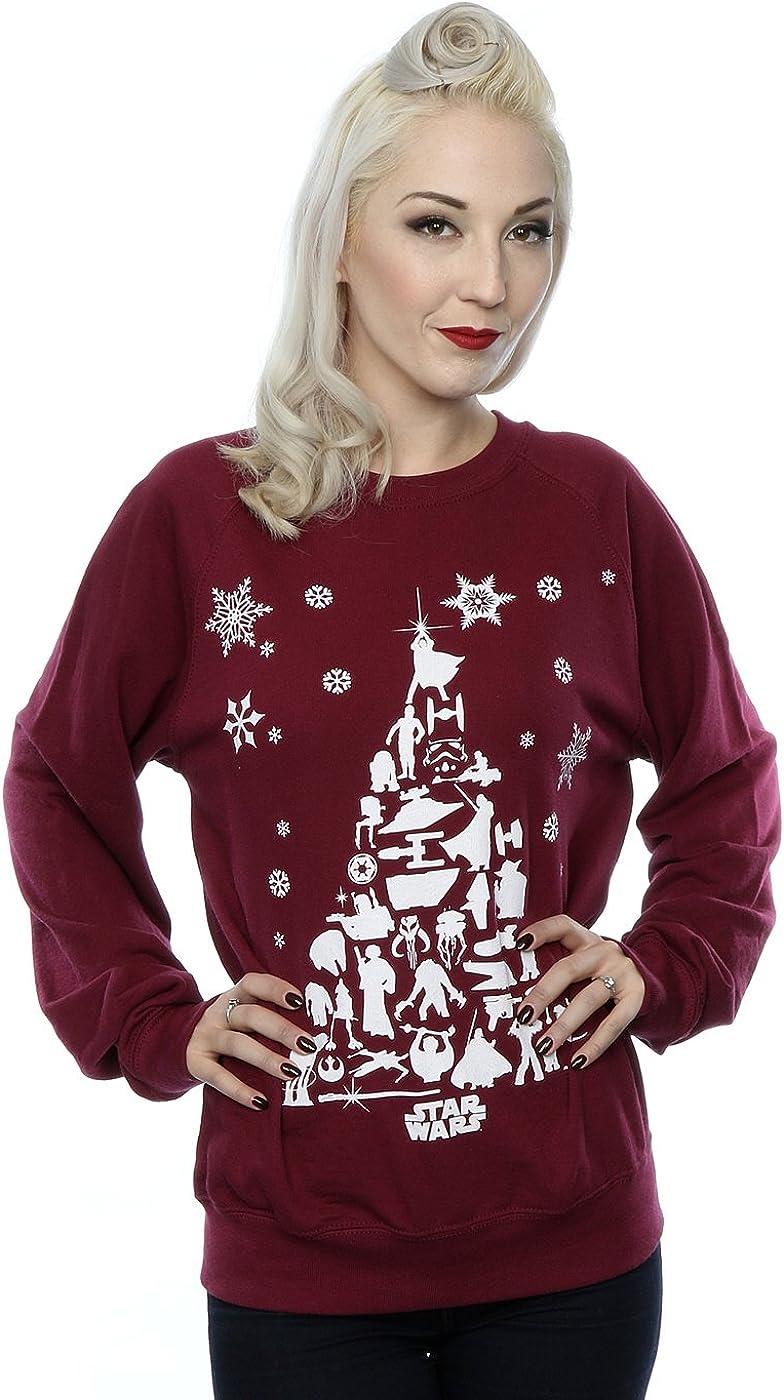Star Wars Women's Christmas Tree Sweatshirt