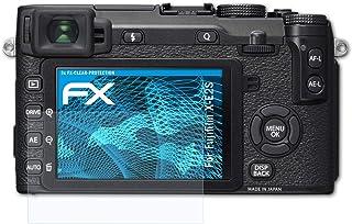 atFoliX Schutzfolie kompatibel mit Fujifilm X E2S Folie, ultraklare FX Displayschutzfolie (3X)