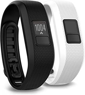 Garmin vivofit 3 Activity Tracker, Regular fit - Black - W/Additional White Accessory Band