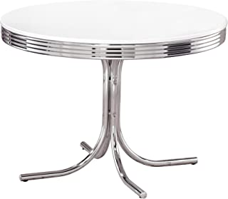 Best vintage dining table chrome Reviews