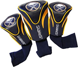 TEAM GOLF NHL Unisex-Adult 3 Pack Contour Headcovers