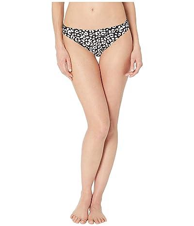 MICHAEL Michael Kors Animal Blend Classic Bikini Bottoms (Black Multi) Women