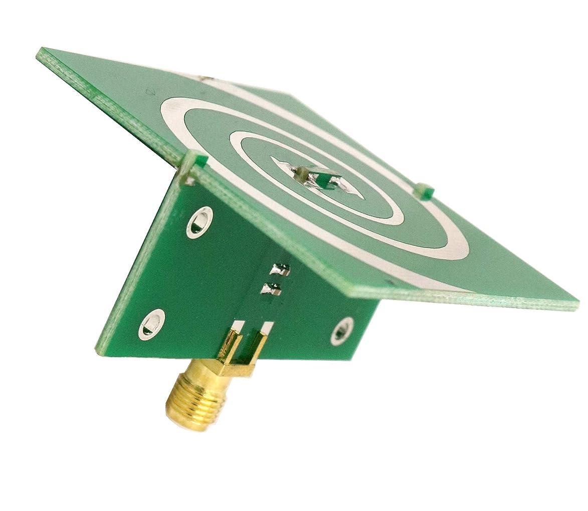 HASSR Ultra Wide Band UWB Antenna 2.4-5.8 GHz for UWB TX/RX SDR Radar GPR SIGINT EMC Test ADSB WiFi FVP Drone Video Vivaldi Antenna