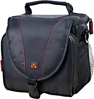 Promate xPose.XL DSLR Camera Case with Side Mesh Pocket and Shoulder Strap (Black)