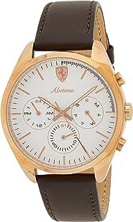 Ferrari Mens Quartz Watch, Chronograph Display and Leather Strap 830504