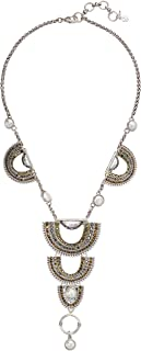Lucky Brand Womens Pave Tribal Necklace