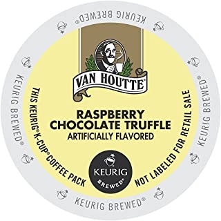 72 Count - Van Houtte Raspberry Chocolate Truffle Coffee K Cup For Keurig K-Cup Brewers and 2.0 Brewers