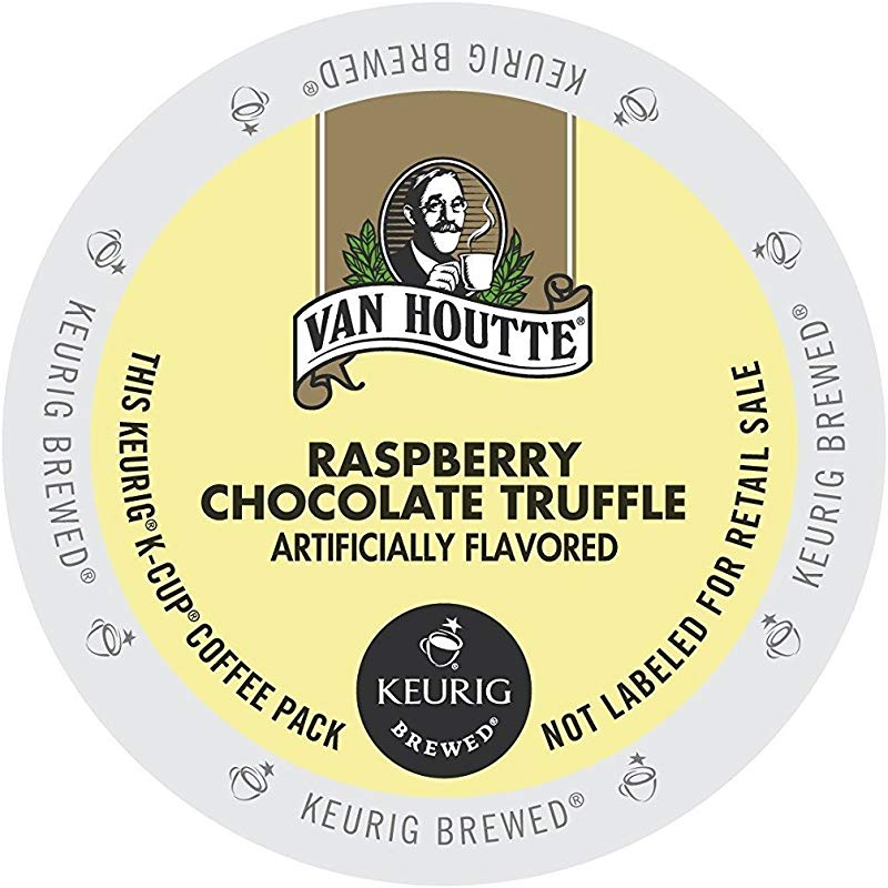 72 Count Van Houtte Raspberry Chocolate Truffle Coffee K Cup For Keurig K Cup Brewers And 2 0 Brewers