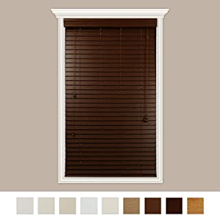 graber simple selections faux wood blinds