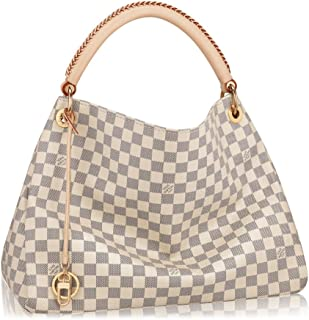 Louis Vuitton Damier Canvas Artsy MM Handbag Article N41174 Made in France 2c6387056da2a