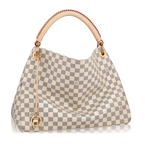 6ece42ff0 Louis Vuitton Damier Canvas Artsy MM Handbag Article:N41174 Made in France