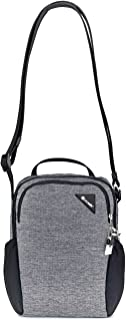 PacSafe Vibe 200 Anti Theft Compact Travel Jet Black Shoulder Bag