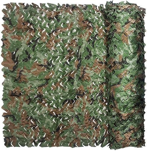Filet Camo Visière Extérieure GR Jungle Mode Camouflage Net Oxford Cloth Convient pour Le Parc à thème Fournitures d'exposition Photographie en Plein air Parasol Net Multi-Taille en Option (Taille  4
