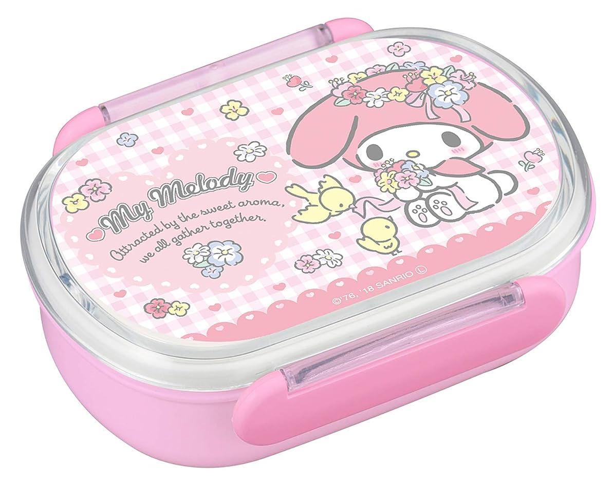 インサートシプリーどれでもオーエスケー 弁当箱 ピンク 容量:約270ml、中子(2個)/約100ml マイメロディ ランチボックス ミニ (中子付) PM-1