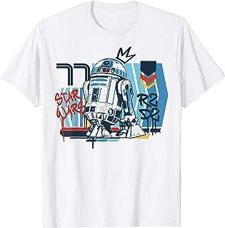 Star Wars R2-D2 Vintage Graffiti Poster T-Shirt