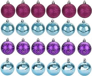 Inicio 12 Piezas de /Árbol de Navidad Decoraciones Colgantes Adornos /Árbol de Navidad Colgante Peque/ña Caja de Regalo Adorno Conjunto para Decoraci/ón de Fiesta