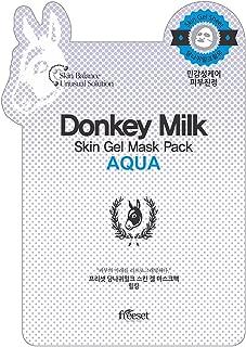 Freeset Donkey Milk Skin Gel Mask Pack - Aqua 10x25ml/0.83oz