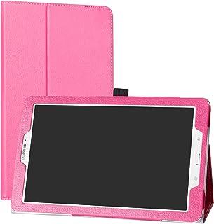 Mama Mouth Samsung Galaxy Tab E 9.6 Funda, Slim PU Cuero con Soporte Funda Caso Case para 9.6