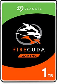 Seagate FireCuda 1TB Solid State Hybrid Drive Performance SSHD – 2.5 Inch SATA 6GB/s Flash Accelerated for Gaming PC Lapto...