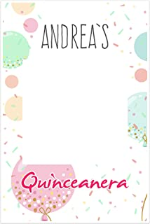 Balloons Quinceanera Selfie Frame Social Media Photo Prop Poster