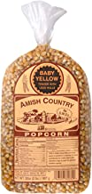 product image for Amish Country Popcorn | 2 lb Bag | Baby Yellow Popcorn Kernels | Old Fashioned with Recipe Guide (Baby Yellow - 2 lb Bag)