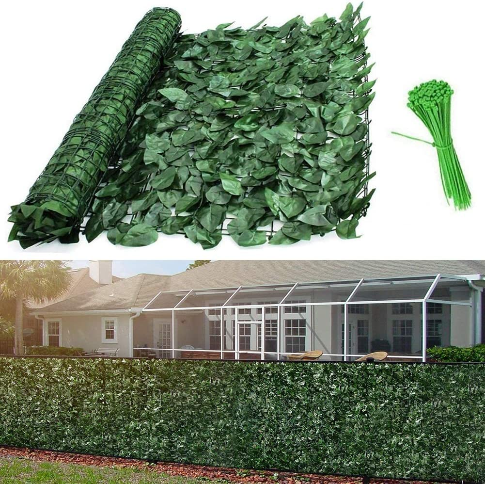 35% OFF Decorative Fences LSXIAO Privacy Screen Hedge Artificial Cover Sale item L