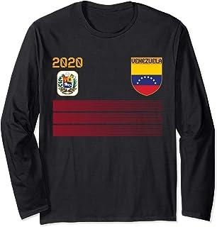 Camiseta de futbol de Venezuela 2020 Futbol de Venezuela Manga Larga: Amazon.es: Ropa y accesorios