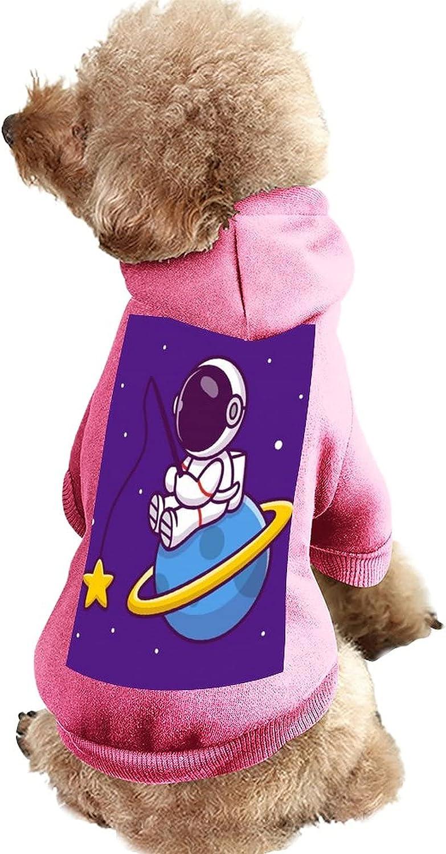 Pet Clothes Cute Astronaut Fishing Cartoon Star on Max 57% OFF Planet Su Atlanta Mall