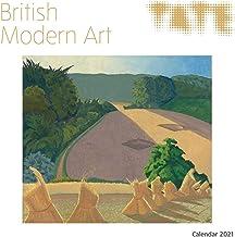 Tate - British Modern Art Wall Calendar 2021 (Art Calendar)