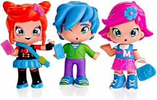 Pinypon by PINY PINY - Pack de 3 figuritas Michelle, Rita y Sam (Famosa 700014144)