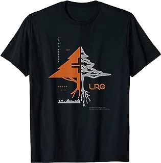 Mens LRG Naturaltactics Split Logo Plus Tree T-Shirt