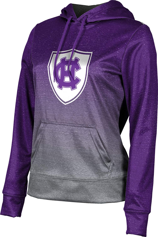 The College of The Holy Cross University Girls' Pullover Hoodie, School Spirit Sweatshirt (Ombre)