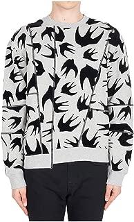 McQ Alexander McQueen Men Sweatshirt Swallow Swarm Mercury Melange
