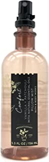 Bath and Body Works Aromatherapy Pillow Mist with Natural Essential Oils (Comfort, Vanilla + Patchouli)