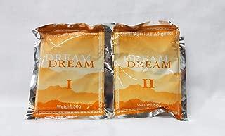 Dream Spa Pedicure Orange Crystal Jelly Gelatin Foot Bath