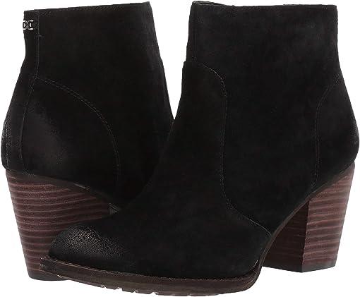 Black Velutto Suede Leather