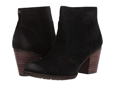 Sam Edelman Mari (Black Velutto Suede Leather) Women