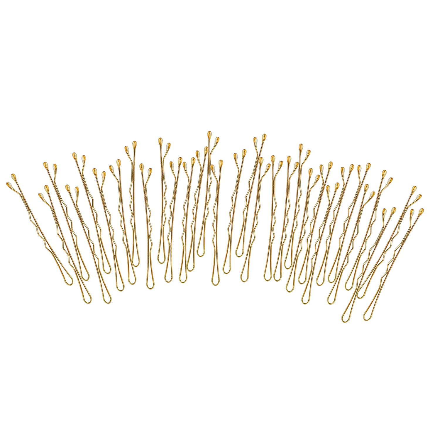 Buy Laicky Bobby Pins, 20Count Blonde Hair Pins Hairpins with Box ...