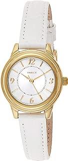 Timex Women's Quartz Watch, Analog Display and Leather Strap TW2R85900