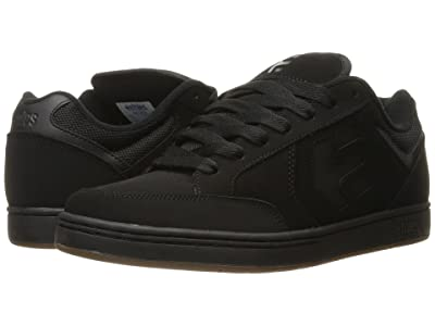 etnies Swivel (Black/Black/Gum) Men