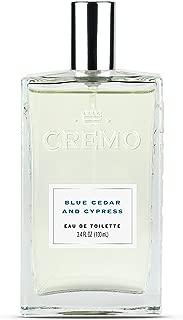 Cremo Cologne Spray, Blue Cedar & Cypress, 3.4 Ounce