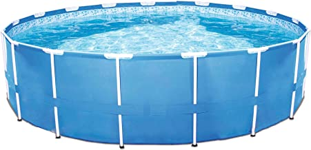 Bestway Steel Pro 12 x 30 Inch Frame Above Ground Swimming Pool with Filter Pump