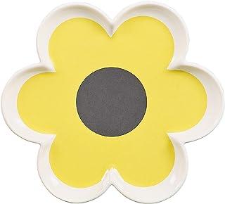 Orla Kiely 6 Petal Flower Tray Colour: Orla Kiely Ochre