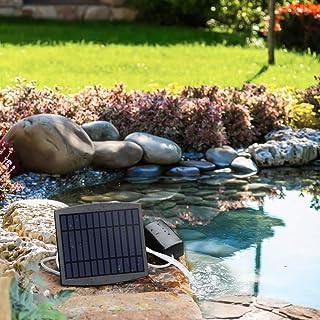 Galapara ソーラー酸素ポンプ 小型エアポンプ 水族館・釣りタンク・池用