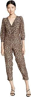 panther print jumpsuit