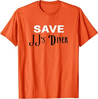Parks and Recreation Save JJ's Diner As See On T-Shirt