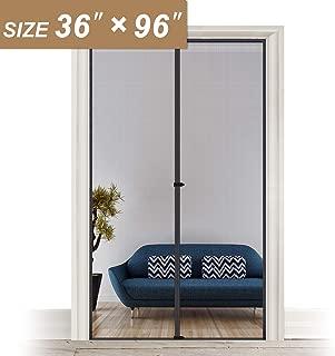Screen Doors with Magnets 36 x 96, Heavy Duty Mosquito Door Net Fit Doors Size Up to 36