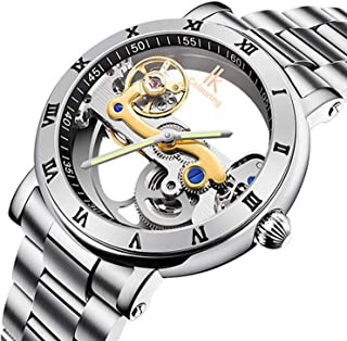 IK Steampunk Hollow-Out Automatic Mechanical Watch Minimalist